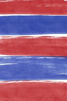 Rode en blauwe aquarel achtergrond, patriottische digitale papier