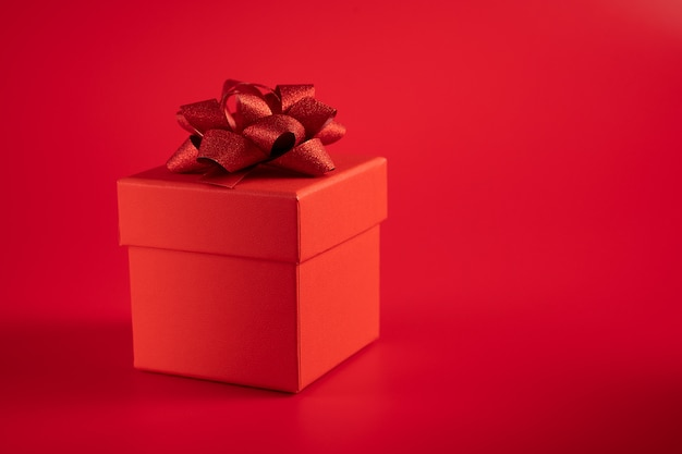 Rode geschenkdoos