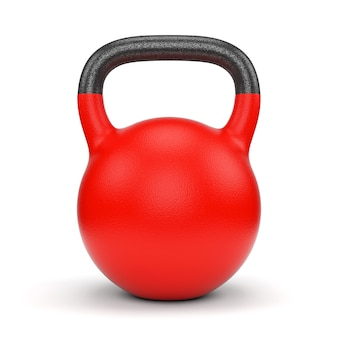 Rode gewicht waterkoker bel