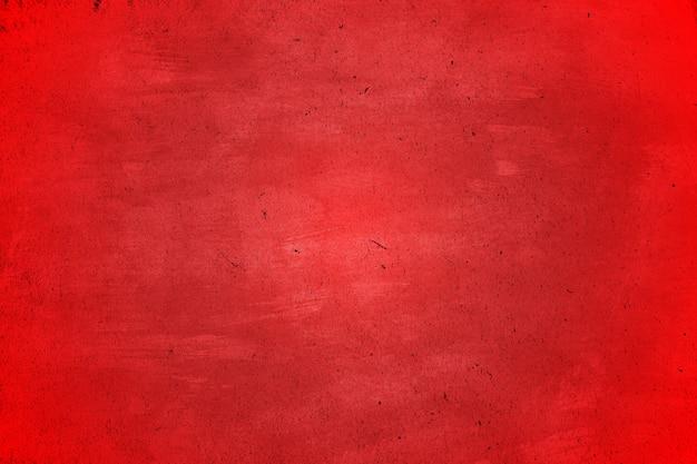 Rode grounge en vuile textuur abstracte achtergrond met krassen en barsten met copyspace