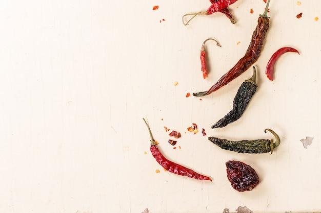 Rode hete chili pepers