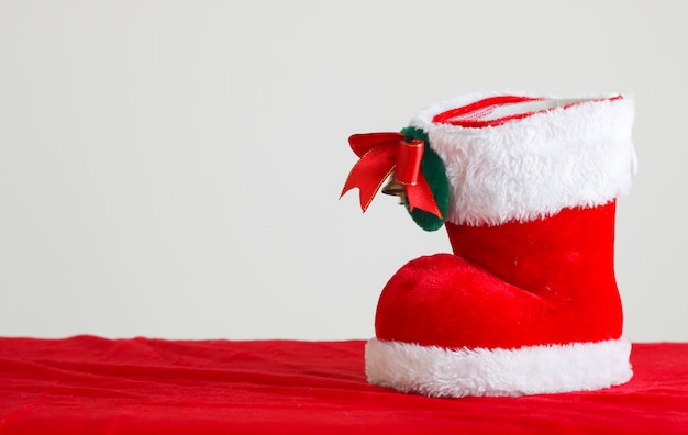 Rode kerst laars