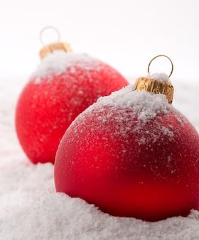 Rode kerstmissnuisterijen