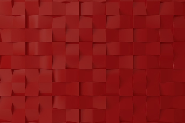 Rode kleuren 3d muur voor achtergrond