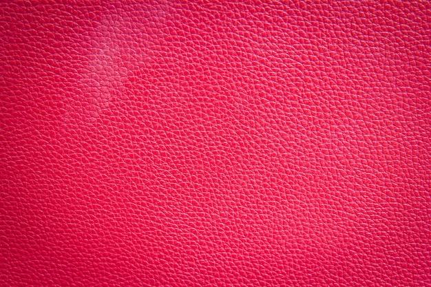 Rode lederen textuur achtergrond
