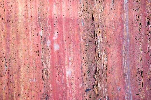 Rode marmeren textuurachtergrond, natuurlijke breccia-marbel voor keramische wand- en vloertegels, gepolijst rood marmer, echte natuurlijke marmeren steentextuur en oppervlakteachtergrond.
