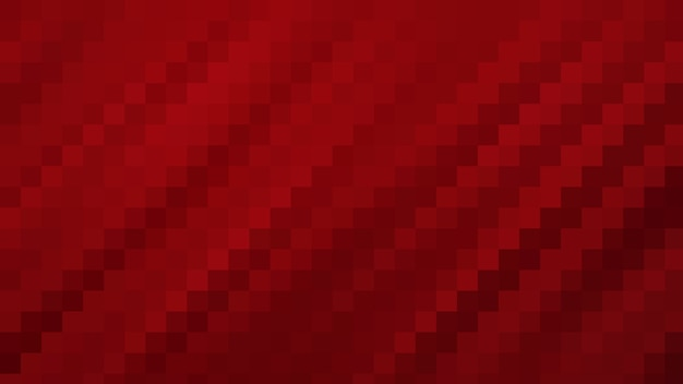 Rode mozaïek abstracte textuur achtergrond, patroon achtergrond zacht vervagen behang