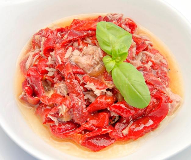 Rode pepersalade