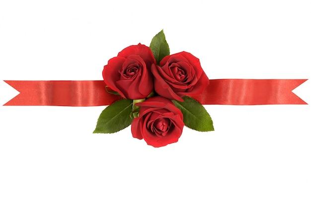 Rode rozen lint banner