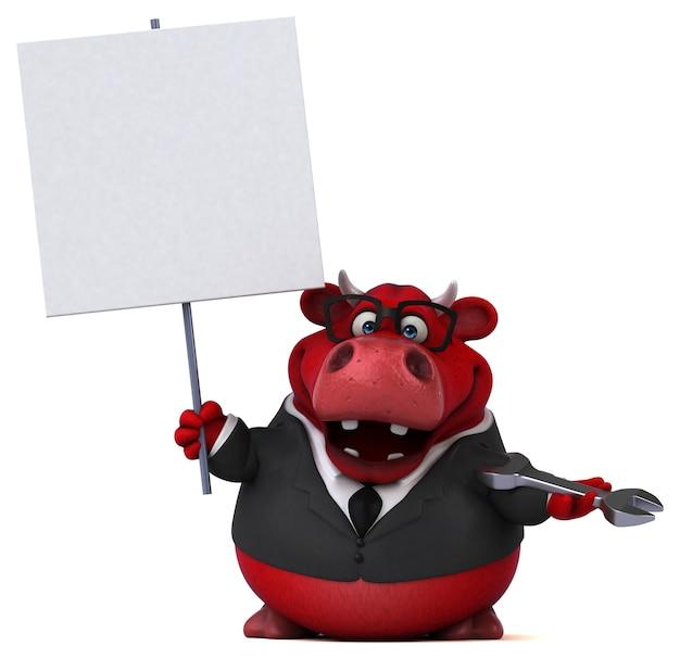 Rode stier illustratie