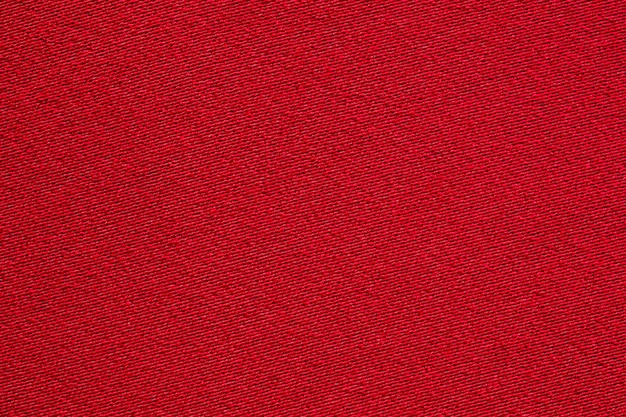 Rode stof doek textuur close-up