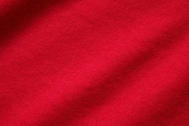 Rode stof doek textuur