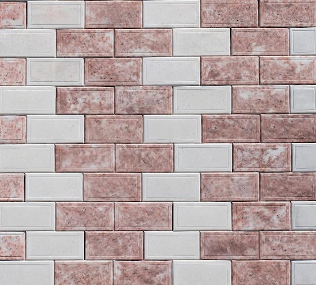 Rode textuur van een stenen muur