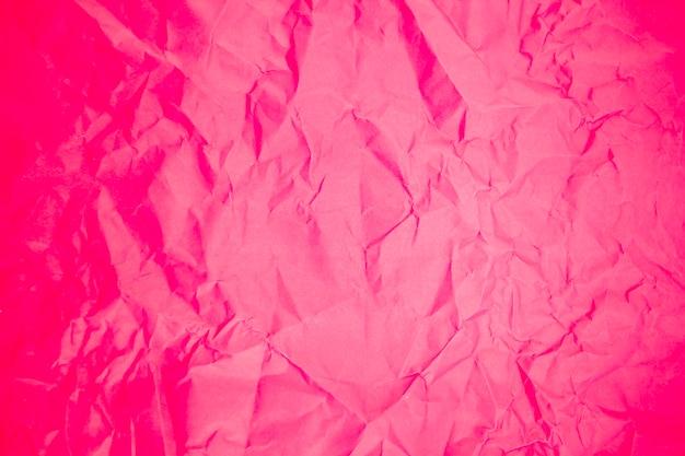 Rode verfrommeld papier achtergrondstructuur
