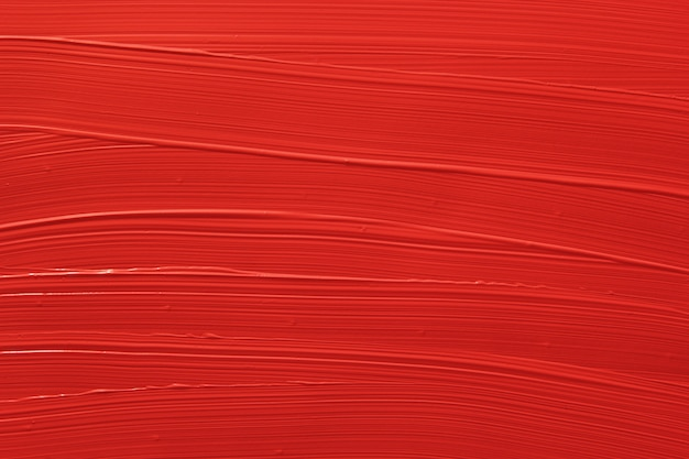 Rode vloeibare lippenstifttextuur