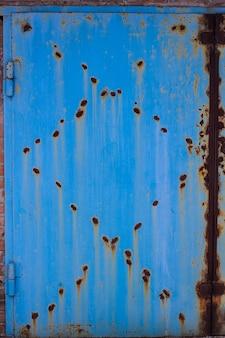 Roest oude textuur metalen achtergrond staal grunge vintage vuile ijzer bekrast
