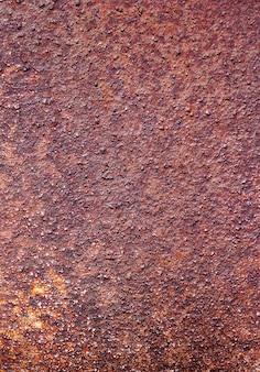 Roest van metalen corrosieve roest op oude ironuse als illustratie voor presentatie.