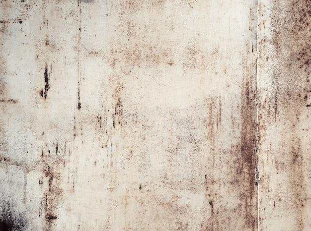 Roestig metaal geschilderde plaatachtergrond, grunge textuur