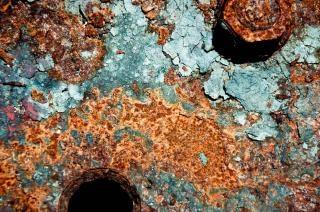 Roestig metaal textuur roest