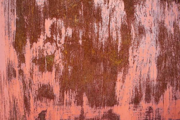 Roestig oud metaal bekrast oppervlaktestructuur