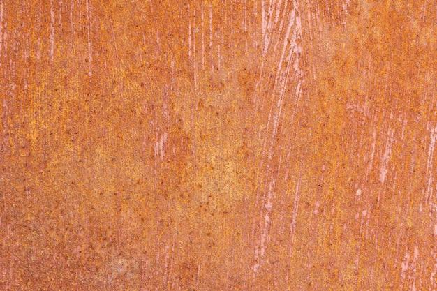 Roestig, oud, metaal, textuur close-up