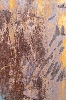 Roestig van de achtergrond metaalplaat materiaal