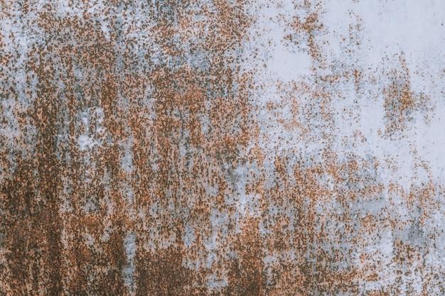 Roestig versleten metalen ijzeren stalen oppervlak. metalen structuur