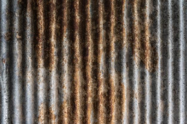 Roestig zine oppervlak voor textuur en achtergrond