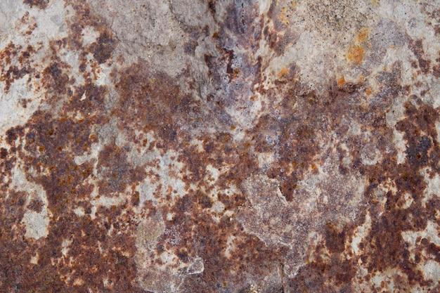Roestige en bijtende metalen textuur