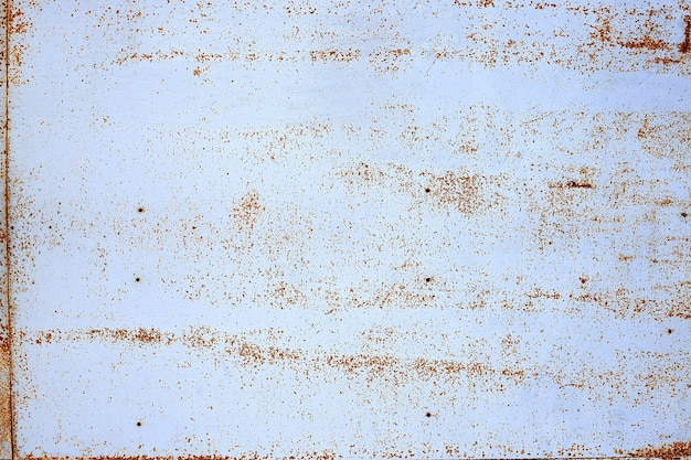Roestige metalen grunge achtergrond. geroest stalen blik abstract patroon.