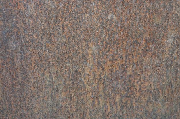 Roestige metalen wand. achtergrond van oud metaal