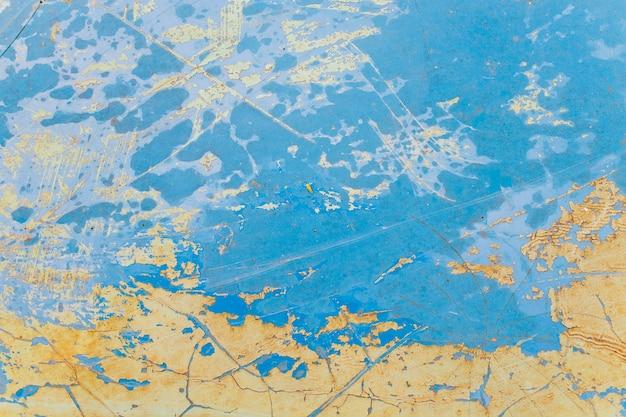 Roestige van de het patroonplaat van de metaaltextuur blauwe bruine het ijzer naadloze naadloze achtergrond als achtergrond.