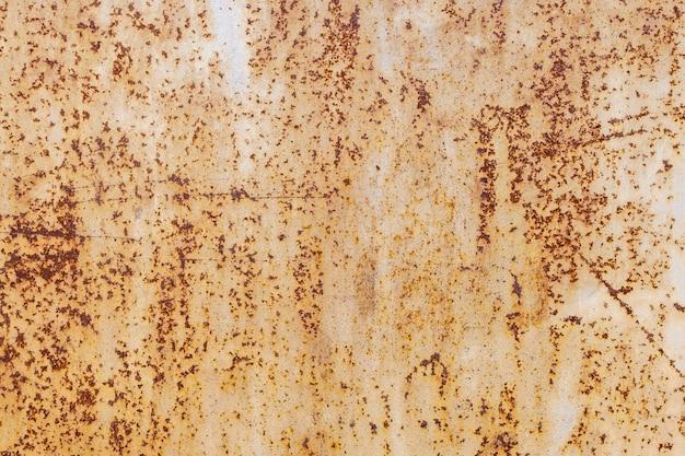 Roesttextuur als achtergrond van een metalen plaat