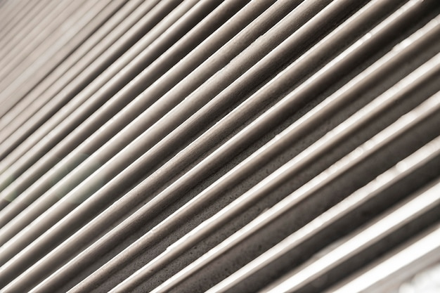 Roestvrij metalen horizontale lijnen achtergrond