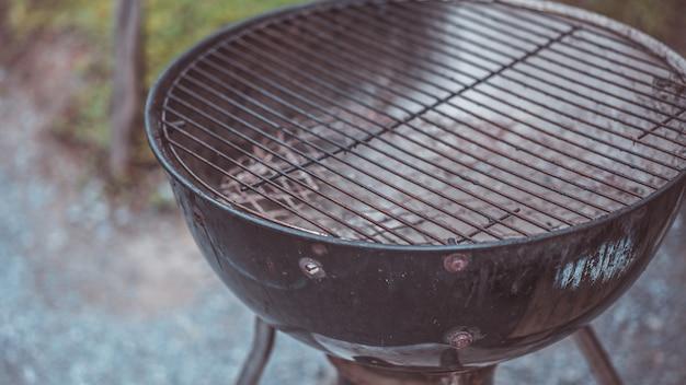 Roestvrij stalen bbq-grill