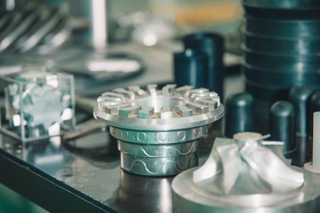 Roestvrij stalen details en uitrustingen voor machines