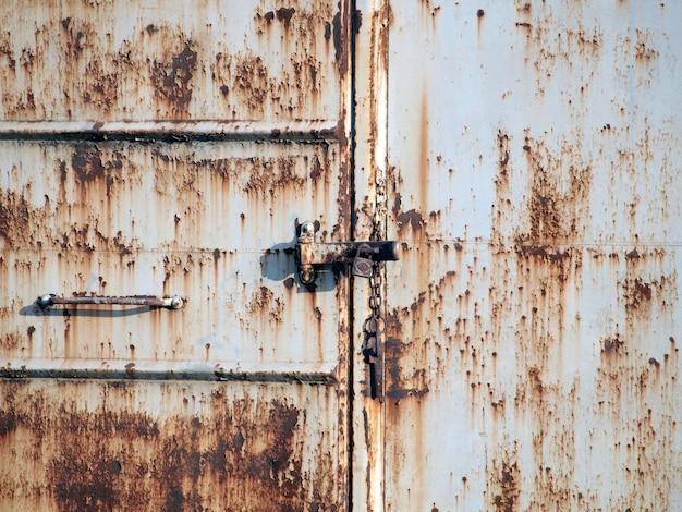 Roestvrij stalen deur