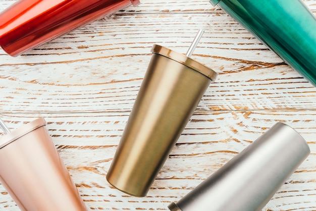 Roestvrije en tumbler cup