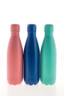 Roestvrijstoffles en fles