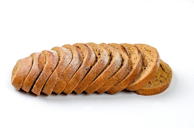 Roggebrood geïsoleerd