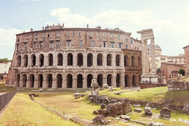 Rome theater marcellus theatrum marcelli teatro di marcello