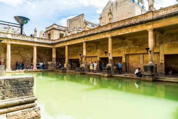 Romeinse baden in de stad bath.