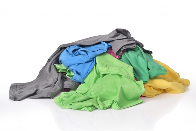 Rommelige en slordige kleding