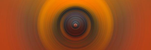 Ronde abstracte stijlvolle donkeroranje achtergrond voor ontwerp