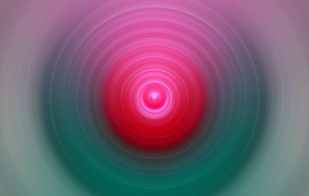 Ronde abstracte stijlvolle roze en groene achtergrond voor ontwerp