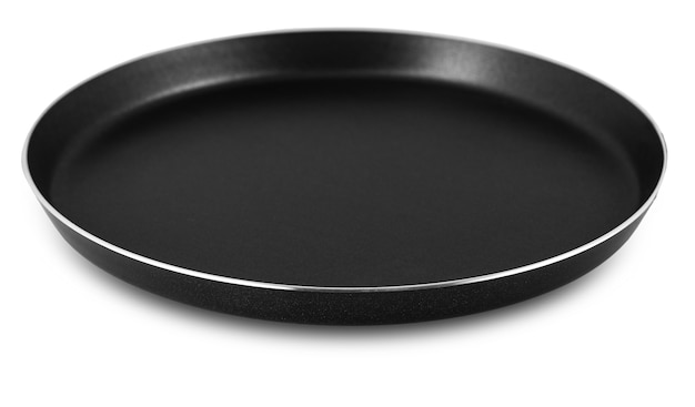 Ronde koekenpan zonder handvat op wit