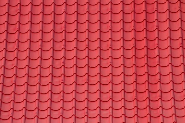 Rood golftegelelement van dak