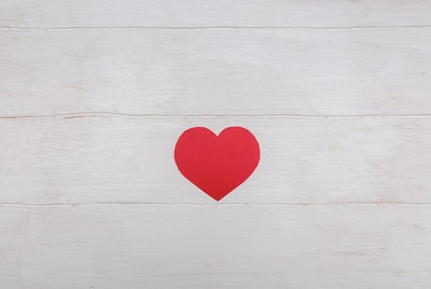Rood hoor voor valentijnsdag