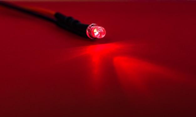 Rood led-licht