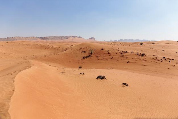 Rood woestijnzand